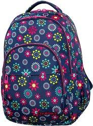 Ученическа раница - Basic Plus: Hippie Daisy -
