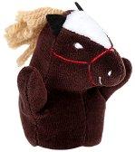 Кукла за пръстче - Пони - Плюшена играчка за куклен театър -