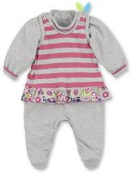 Бебешки комплект - Гащеризон и блуза -
