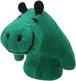 Кукла за пръстче - Хипопотам - Плюшена играчка за куклен театър -