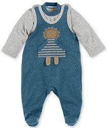 Бебешки комплект - Лео - Гащеризон и блуза - продукт