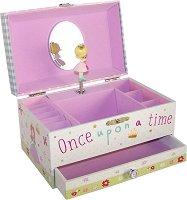 Музикална кутия за бижута - Принцеса -