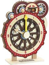 Дървен часовник -