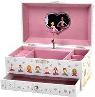 Музикална кутия за бижута - Балерина -