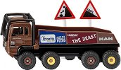 """Камион - HS Schoch 8X8 MAN - Метална играчка от серията  """"Super: Building Site & Cranes"""" - играчка"""