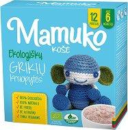 Mamuko - Био безмлечна каша с елда - Опаковка от 240 g за бебета над 6 месеца -