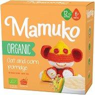 Mamuko - Био безмлечна каша с овес и царевица -
