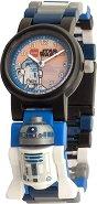 """Детски ръчен часовник - LEGO: R2-D2 - Комплект с фигурка от серията """"Star Wars"""""""