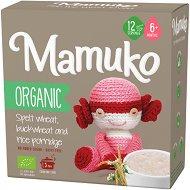 Mamuko - Био безмлечна каша с елда, ориз и спелта - Опаковка от 240 g за бебета над 6 месеца -