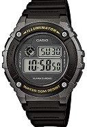 "Часовник Casio Collection - W-216H-1BVEF - От серията ""Casio Collection"""