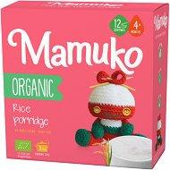 Mamuko - Био безмлечна каша с ориз - Опаковка от 240 g за бебета над 4 месеца -
