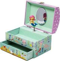 Музикална кутия за бижута -  Русалка - играчка