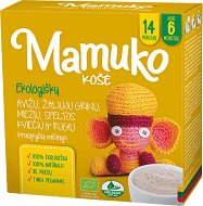Mamuko - Био безмлечна каша с овес, зелена елда, ечемик, спелта и ръж -