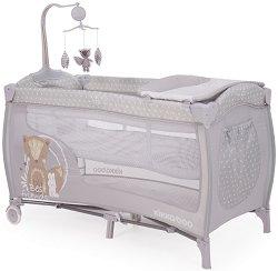 Сгъваемо бебешко легло на две нива - Dolce Sonno -