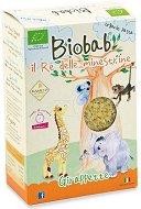 Biobab - Био паста звездички от камут, ориз и морков - Опаковка от 250 g за бебета над 12 месеца -
