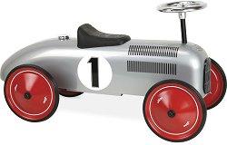 Метална ретро количка за яздене -