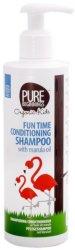 Pure Beginnings Organic Kids Fun Time Conditioning Shampoo - Детски шампоан за лесно разресване на коса - спирала