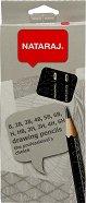 Графитни моливи с различна твърдост - Комплект от 12 броя