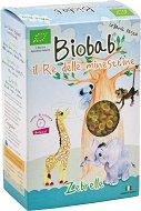 Biobab - Био паста цветни мидички от твърда пшеница със зеленчуци - продукт
