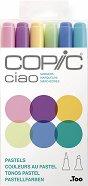 Двувърхи маркери - Ciao Pastels