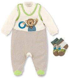 Бебешки комплект - Anton - 100% памук -