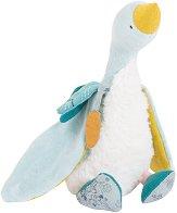"""Гъска - Plumette - Плюшена бебешка играчка от серията """"Le voyage de Olga"""" - играчка"""