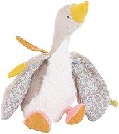 """Гъска - Flechette - Плюшена бебешка играчка от серията """"Le voyage de Olga"""" - играчка"""