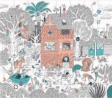 """В градината - От серията """"Les Bambins """" -"""