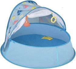 Сгъваема бебешка кошара 3 в 1 с UV защита 50+ - Aquani -
