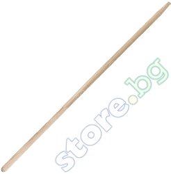Дръжка за гребло - Бук - Размери 120 x ∅ 2.8 cm