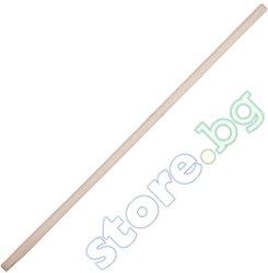 Дървена дръжка за лопата - ∅ 3.4 cm