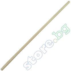 Дървена дръжка за лопати и гребла