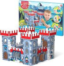 """Замък - Картонен 3D модел за сглобяване и оцветяване от серията """"Art Berry"""" - играчка"""