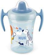 Неразливаща се чаша с мек накрайник и дръжки - Trainer Cup 230 ml - За бебета над 6 месеца -