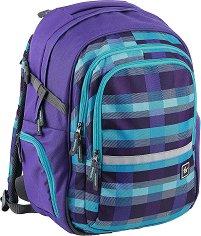 Ученическа раница - Filby: Summer Check Purple -