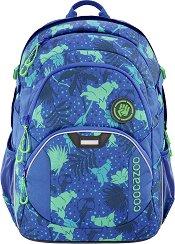 Ученическа раница - Coocazoo Jobjobber 2: Tropical Blue -