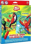 Създай сам - Тропически птици - макет
