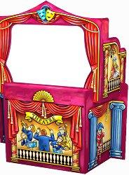 """Сцена за куклен театър - Картонен модел за сглобяване от серията """"Art Berry"""" - играчка"""