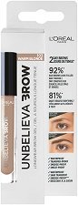 L'Oreal Unbelieva Brow Long Lasting Brow Gel - Дълготраен гел за вежди - крем