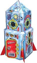 """Ракета - Картонен модел за сглобяване и оцветяване от серията """"Art Berry"""" - продукт"""
