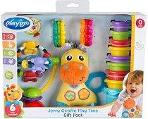 Подаръчен комплект за игра - Жирафът Джери -