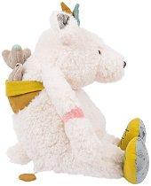 """Полярна мечка с малкото си - Плюшена музикална играчка за бебе от серията """"Le voyage de Olga"""" -"""