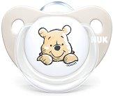 Залъгалка от силикон с ортодонтична форма - Мечо Пух - Комплект с кутия за съхранение за бебета от 0+ до 6 месеца - продукт