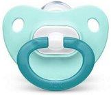 Залъгалка от силикон с ортодонтична форма - Fashion - За бебета от 6 до 18 месеца -
