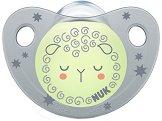 Флуоресцентна залъгалка от силикон с ортодонтична форма - Night & Day - За бебета от 6 до 18 месеца -