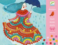 Направи сама мозайка - Парти рокли - Творчески комплект - играчка