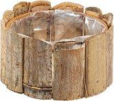 Дървена кашпа - Бамбук