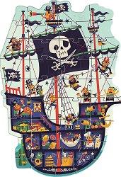 Пиратски кораб - пъзел