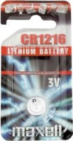 Бутонна батерия CR1216 -