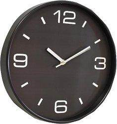 Стенен часовник Claps - Crossandra Black